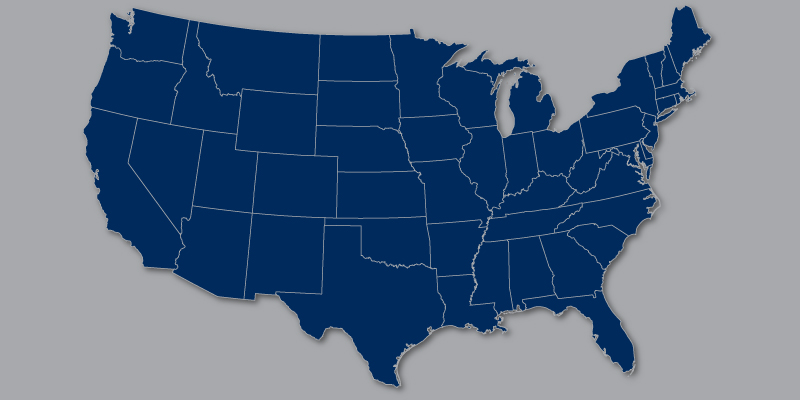York Funding - United States Map